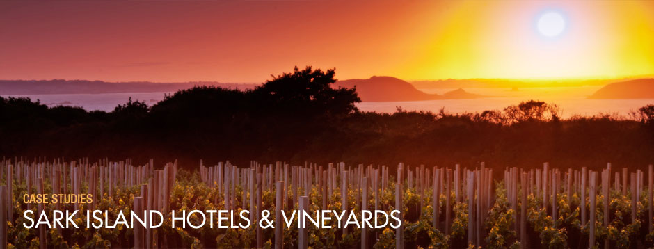 Social Media case studies: Sark Island Hotels And Vineyards